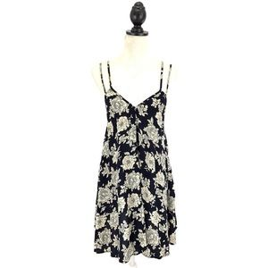 Brandy Melville Floral Selda Mini Swing Dress OS